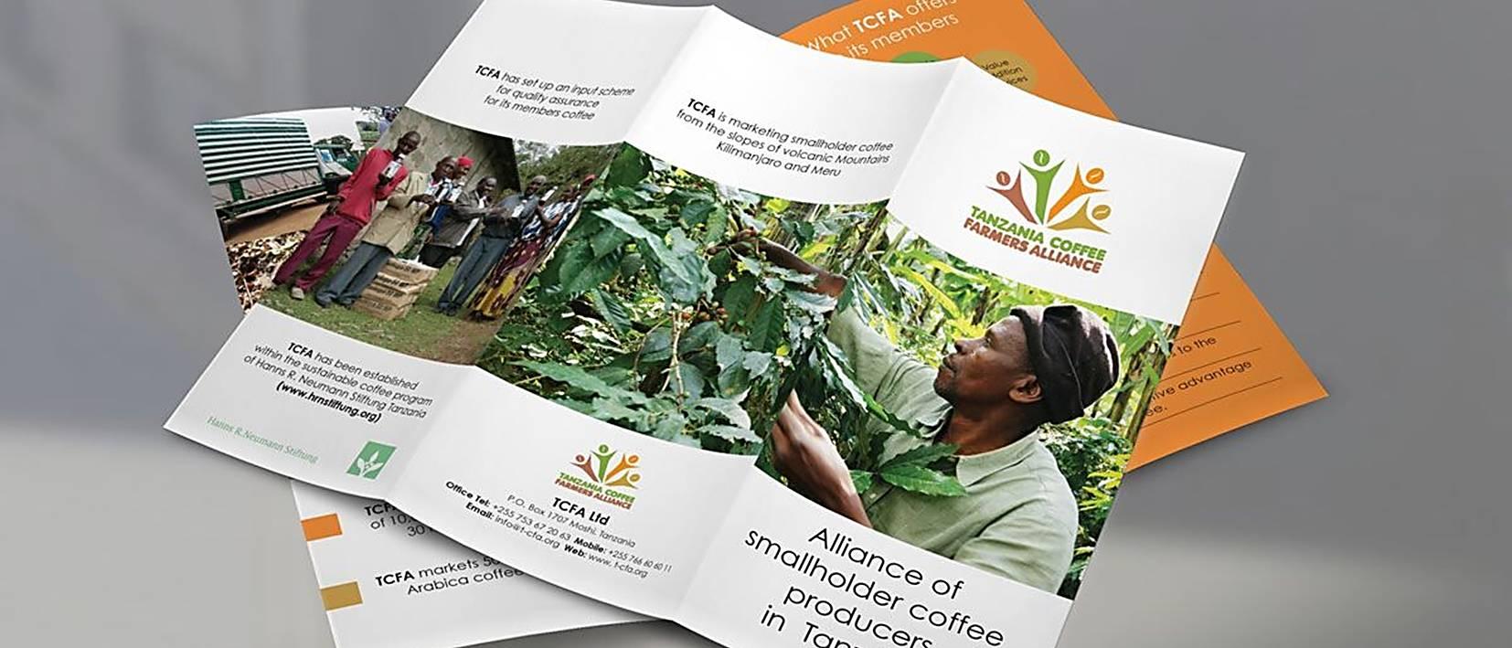 open leaflets