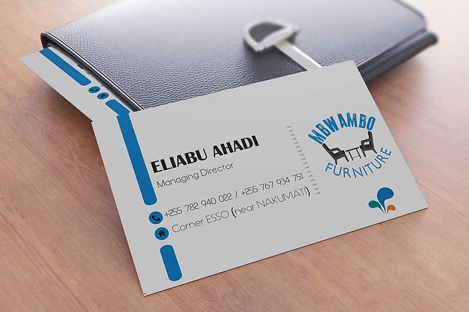 i catching design TanzaniaMoney making business card - i catching ...