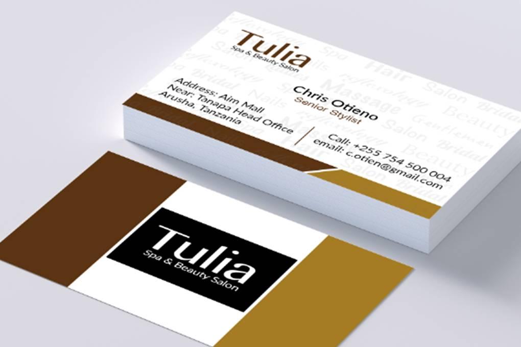 Business cards, beauty, salon, spa