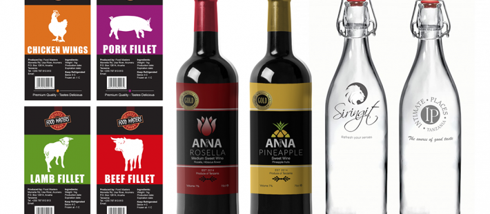 Wine bottles, food label, label, swingtop bottles